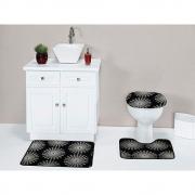 Kit Banheiro Home Belga 3 pçs - Perfil Baixo - Espessura 1cm