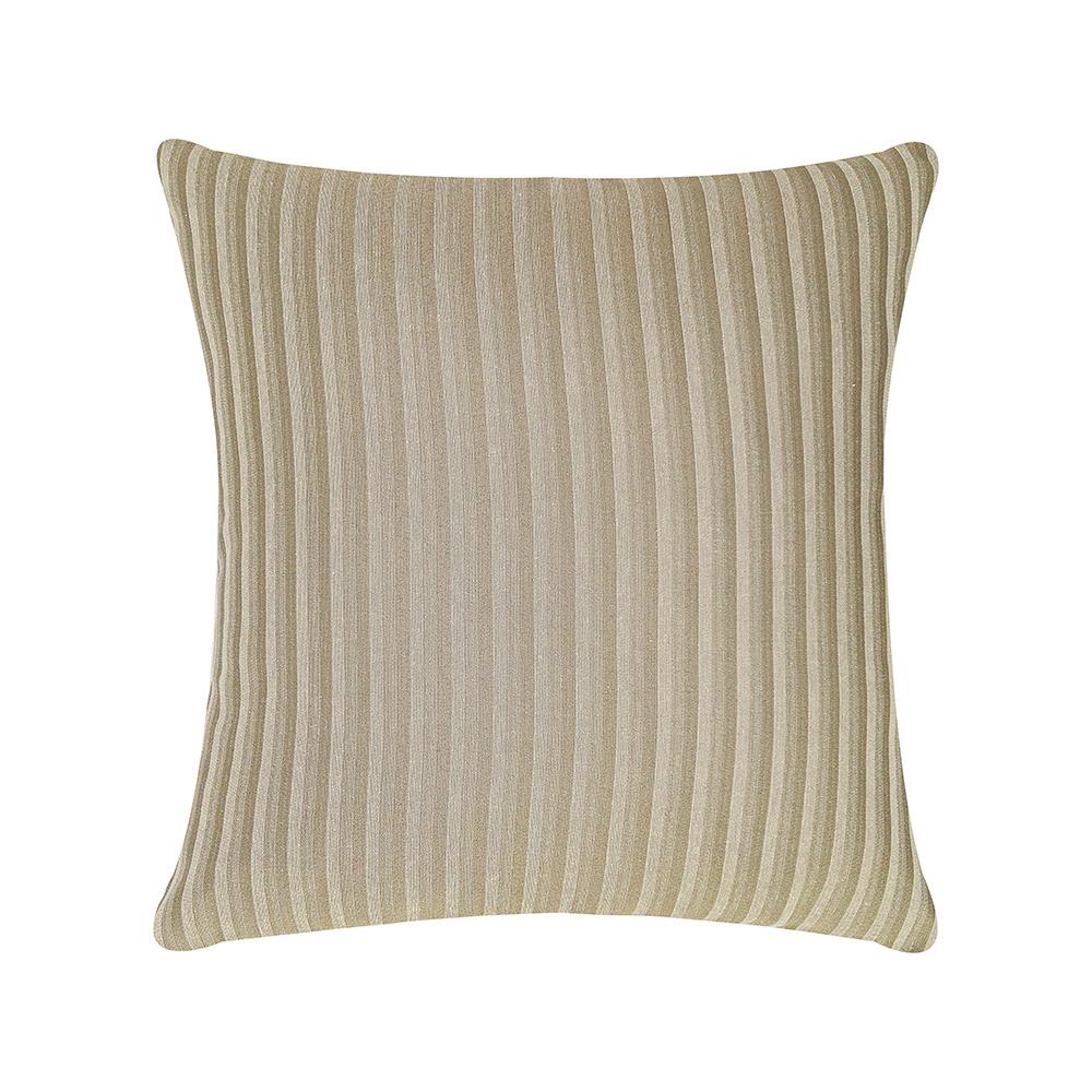 Capa de Almofada Elegance 45cmx45cm 1 Peça - Areia Listra Pequena