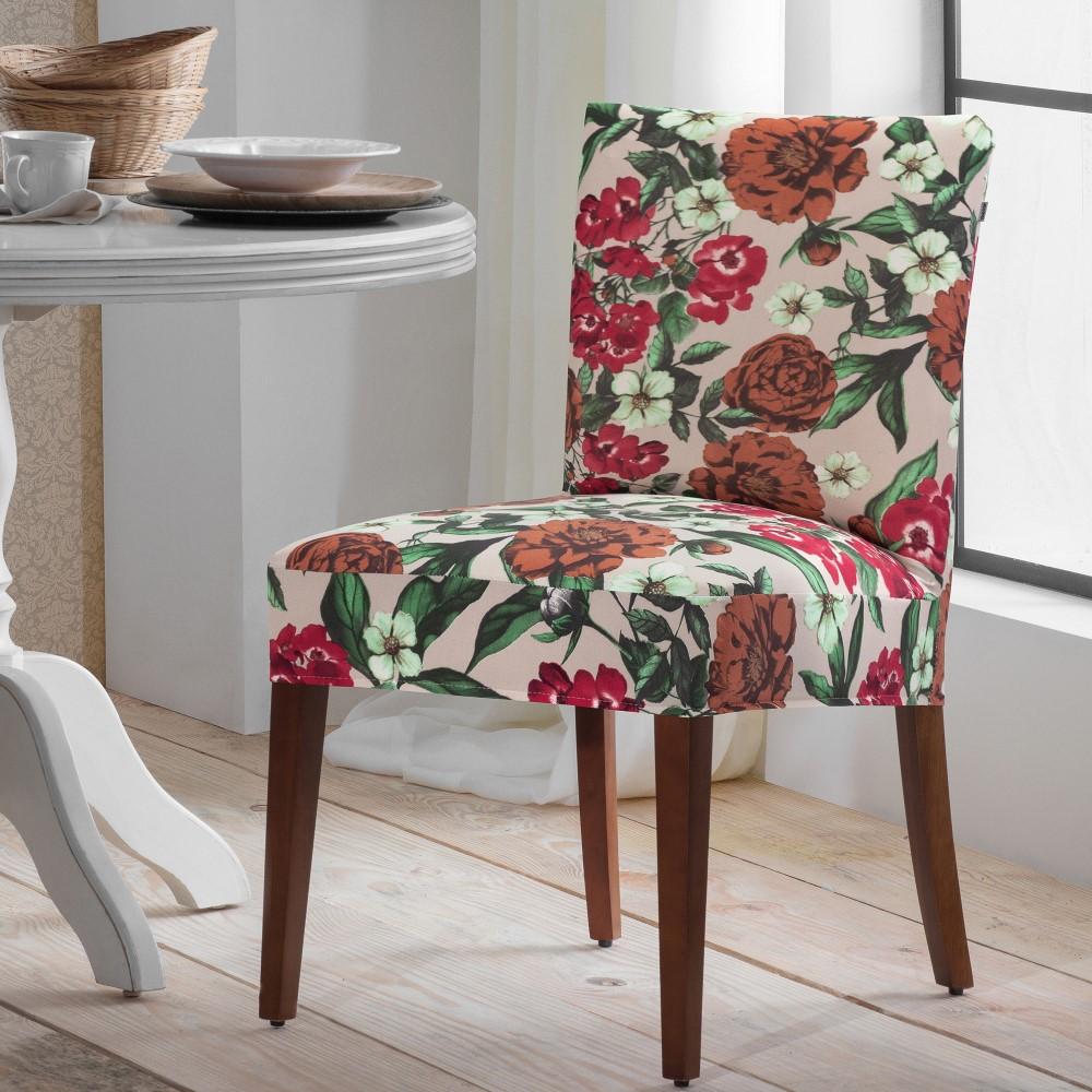 Capa de Cadeira Malha 01 Peça - Primavera