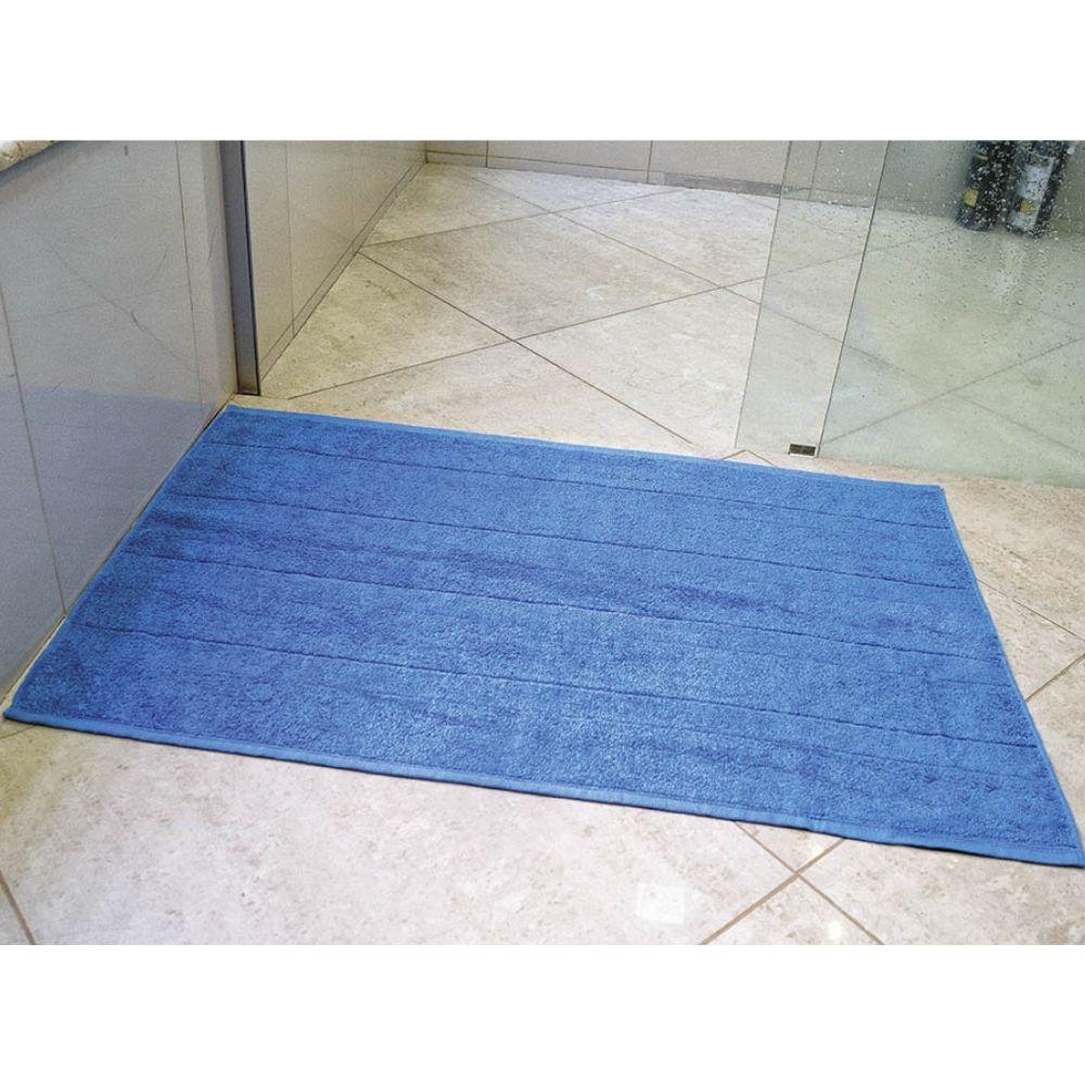 Piso Banheiro Roma 45cm x 75cm - Perfil Baixo - Espessura 1cm - Azul