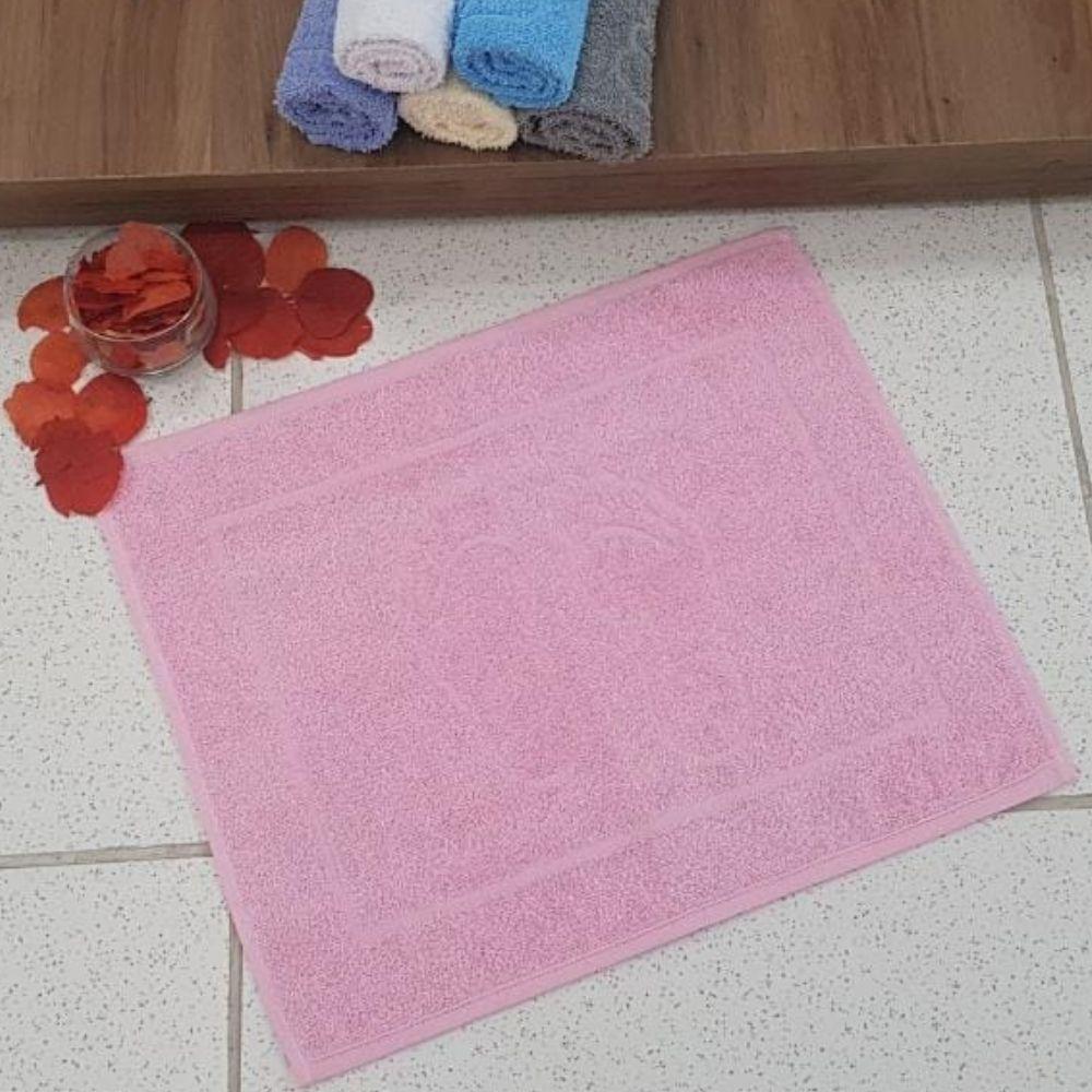 Piso de Banheiro Pezinho 1 Peça - Rosa
