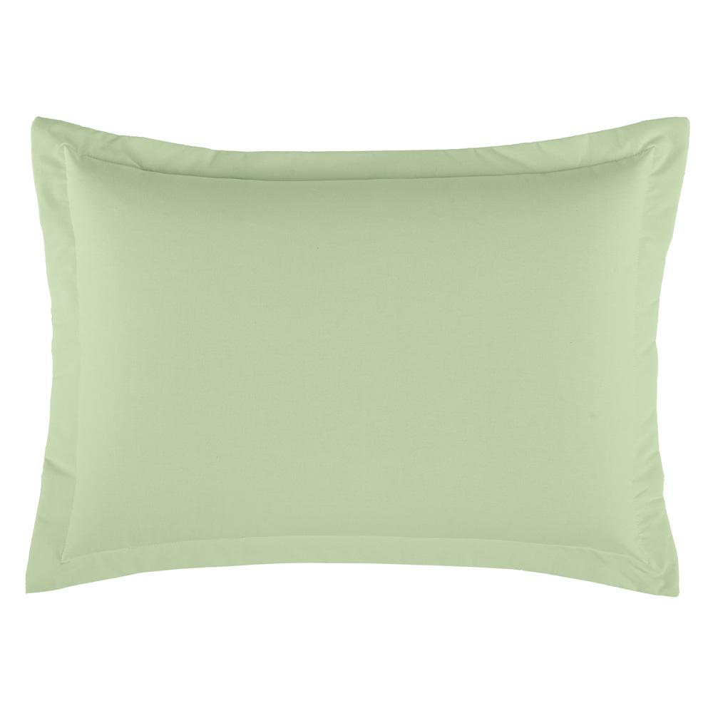 Porta Travesseiro Dia a Dia 1 Peça - Verde claro