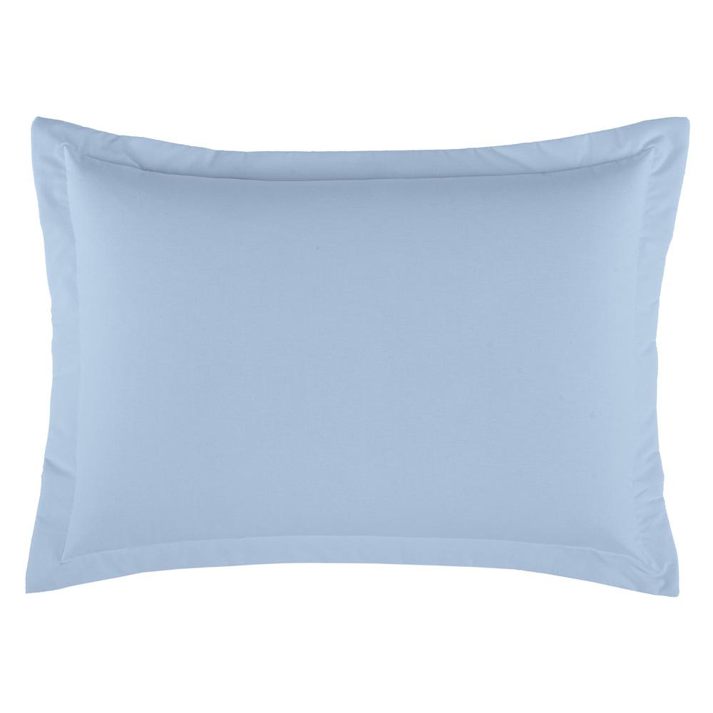 Porta Travesseiro Dia a Dia 1 Peça - Azul claro