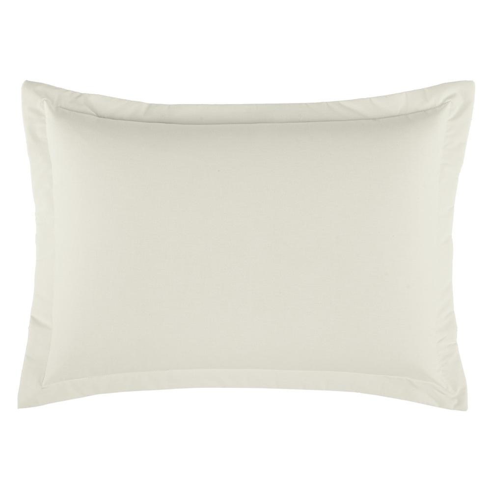 Porta Travesseiro Dia a Dia 1 Peça - Palha