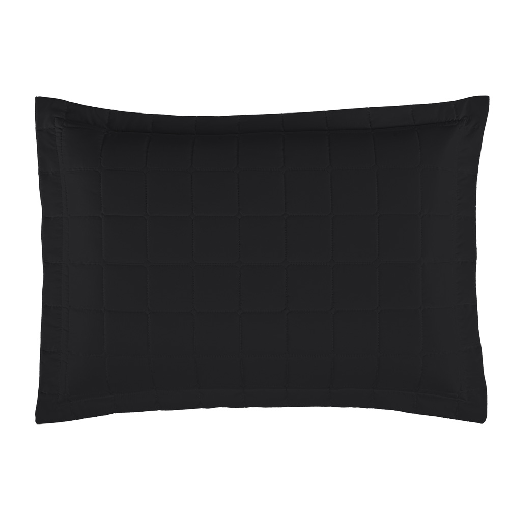 Porta Travesseiro Soft 1 Peça - Preto