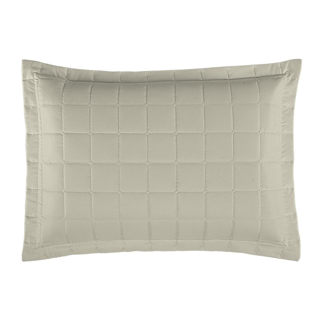 Porta Travesseiro Soft 1 Peça - Areia