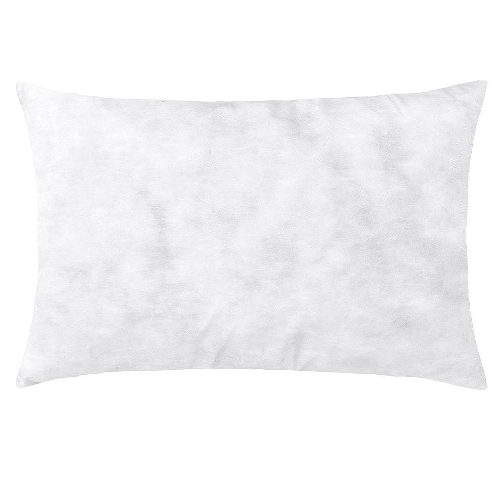 Refil de Almofada Siliconizado 60cmx40cm 1 Peça - Branco