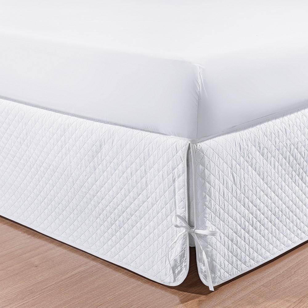Saia Box Soft Solteiro 1 Peça - Branco