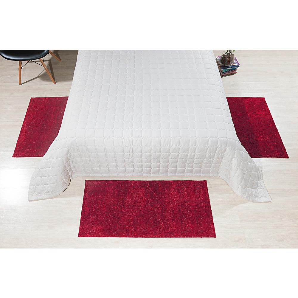 Tapete Classic 50cm x 1,00m - Perfil Baixo - Espessura 1,7cm - Vermelho