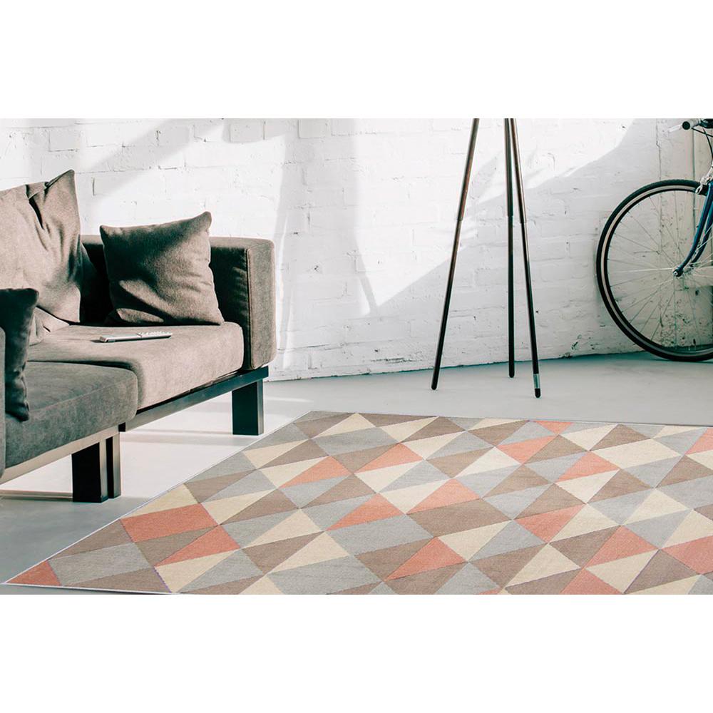 Tapete Veludo Renaissance 1,00m x 1,50m - Perfil Baixo - Espessura 1 cm - Verona Cinza