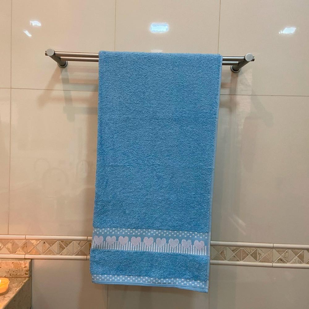 Toalha de Banho Amare Avulsa 1 Peça - Azul claro