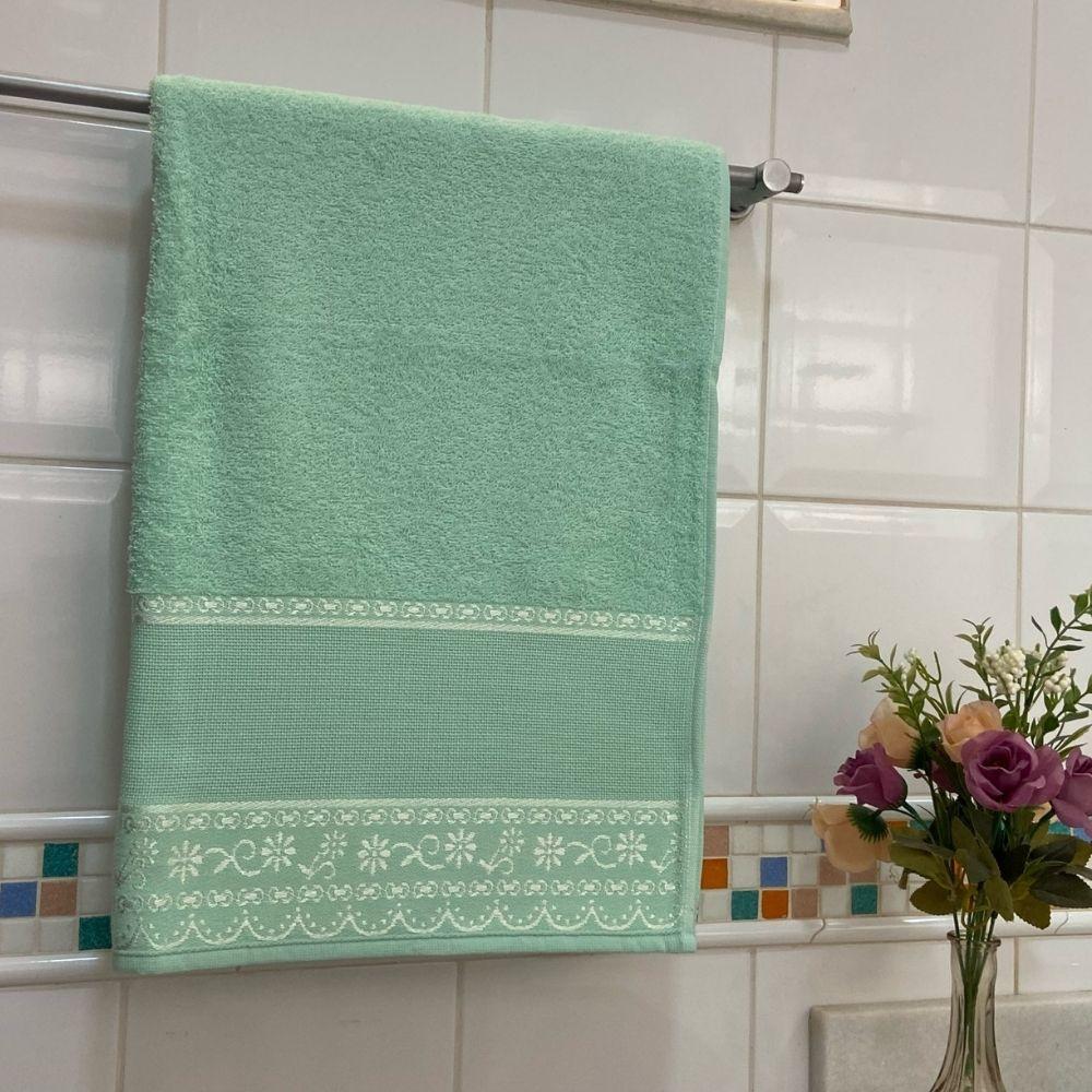 Toalha de Banho Belle Avulsa 1 Peça - Verde claro