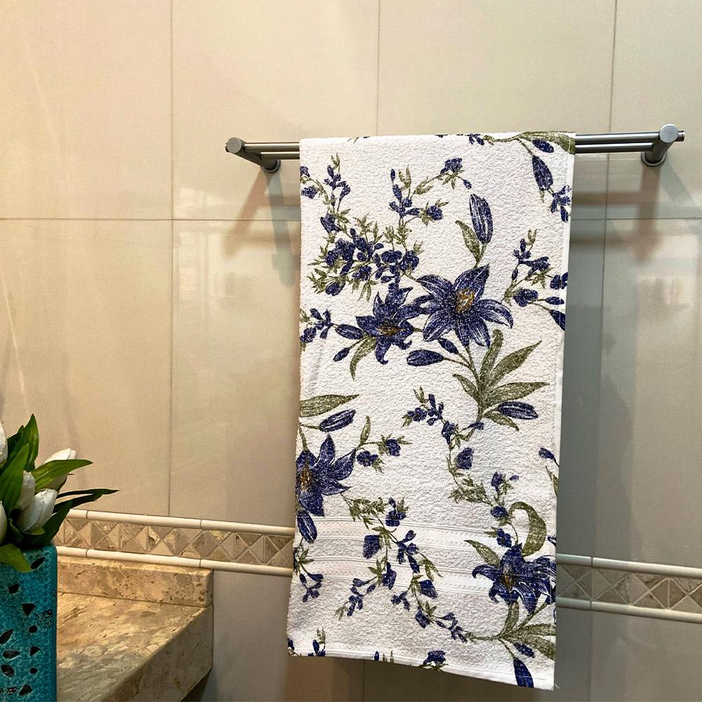 Toalha de Banho Noblesse Decor Avulsa 1 Peça - Azul