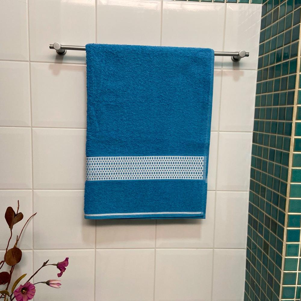 Toalha de Banho Urbane Avulsa 1 Peça - Azul