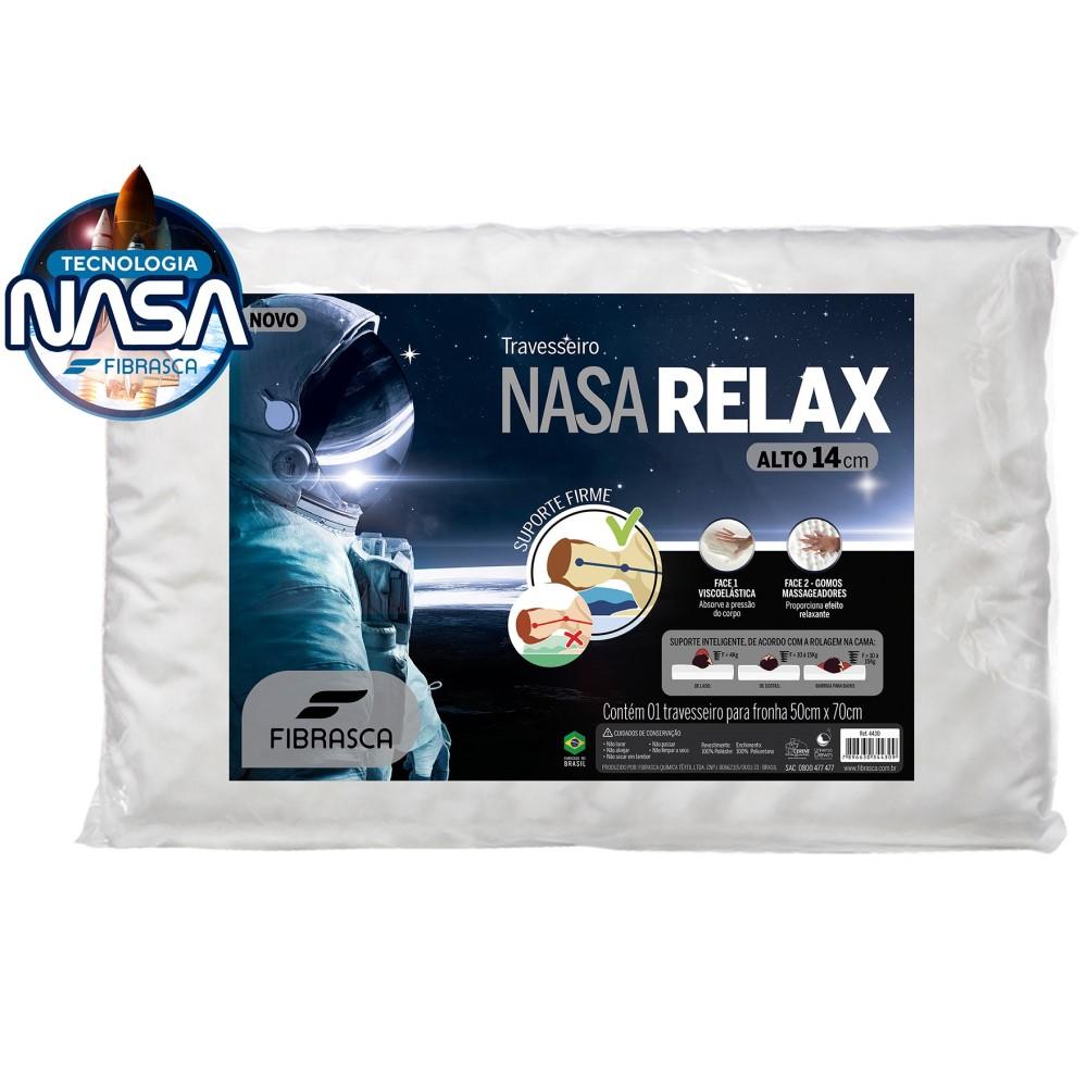 Travesseiro Nasa Relax - Branco