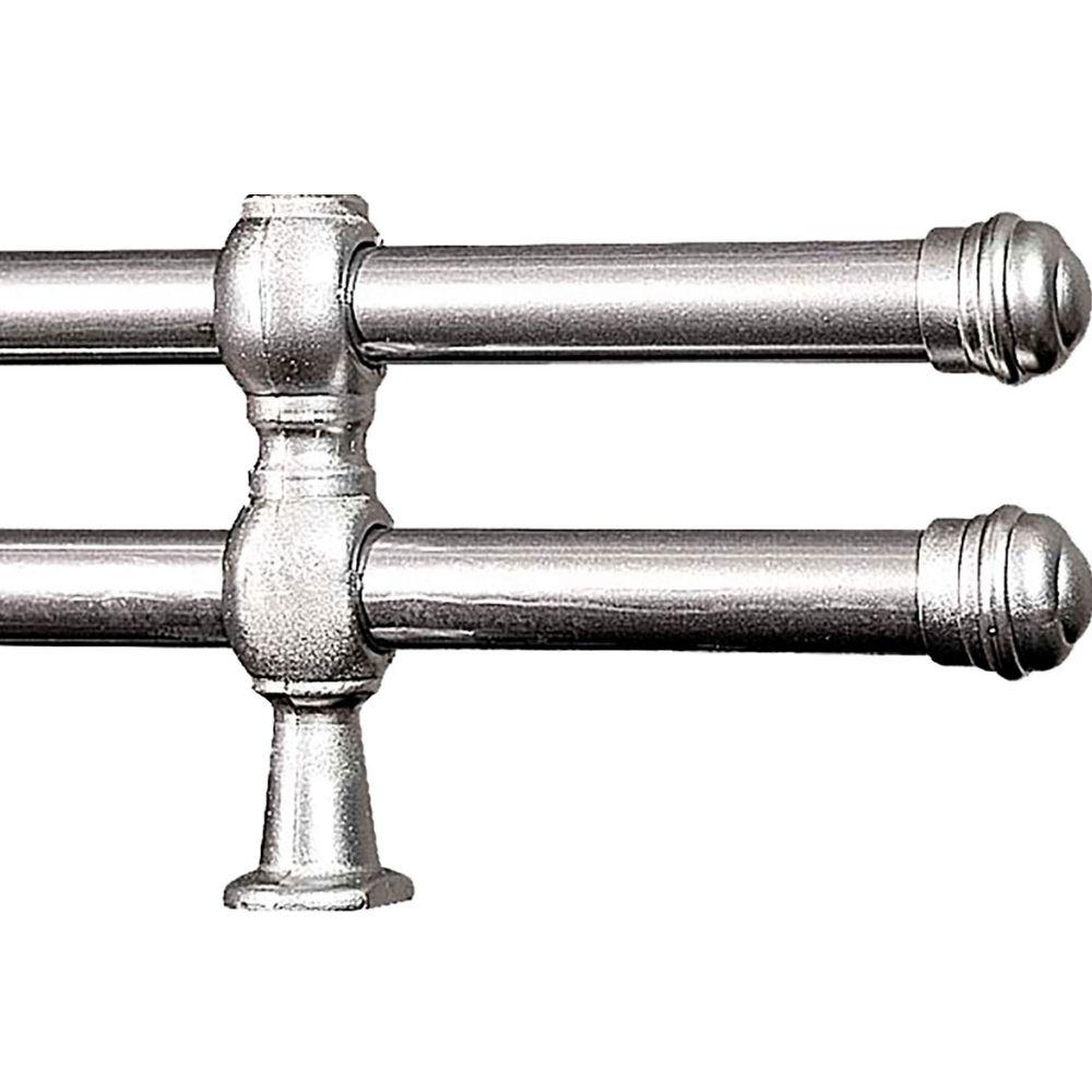 Varão Duplo 19/19mm 4 Metros Cromado