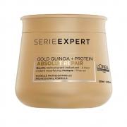 Máscara L?Oréal Professionnel Absolut Gold Quinoa + Protein 250g