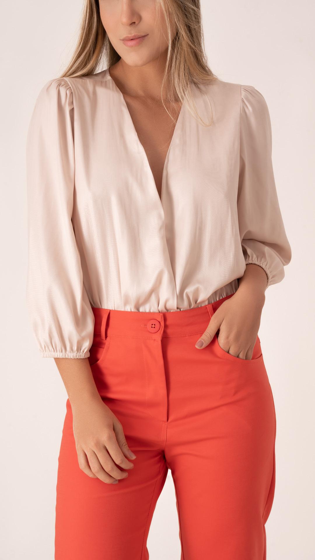 Calça D Layer Pantalona Curta