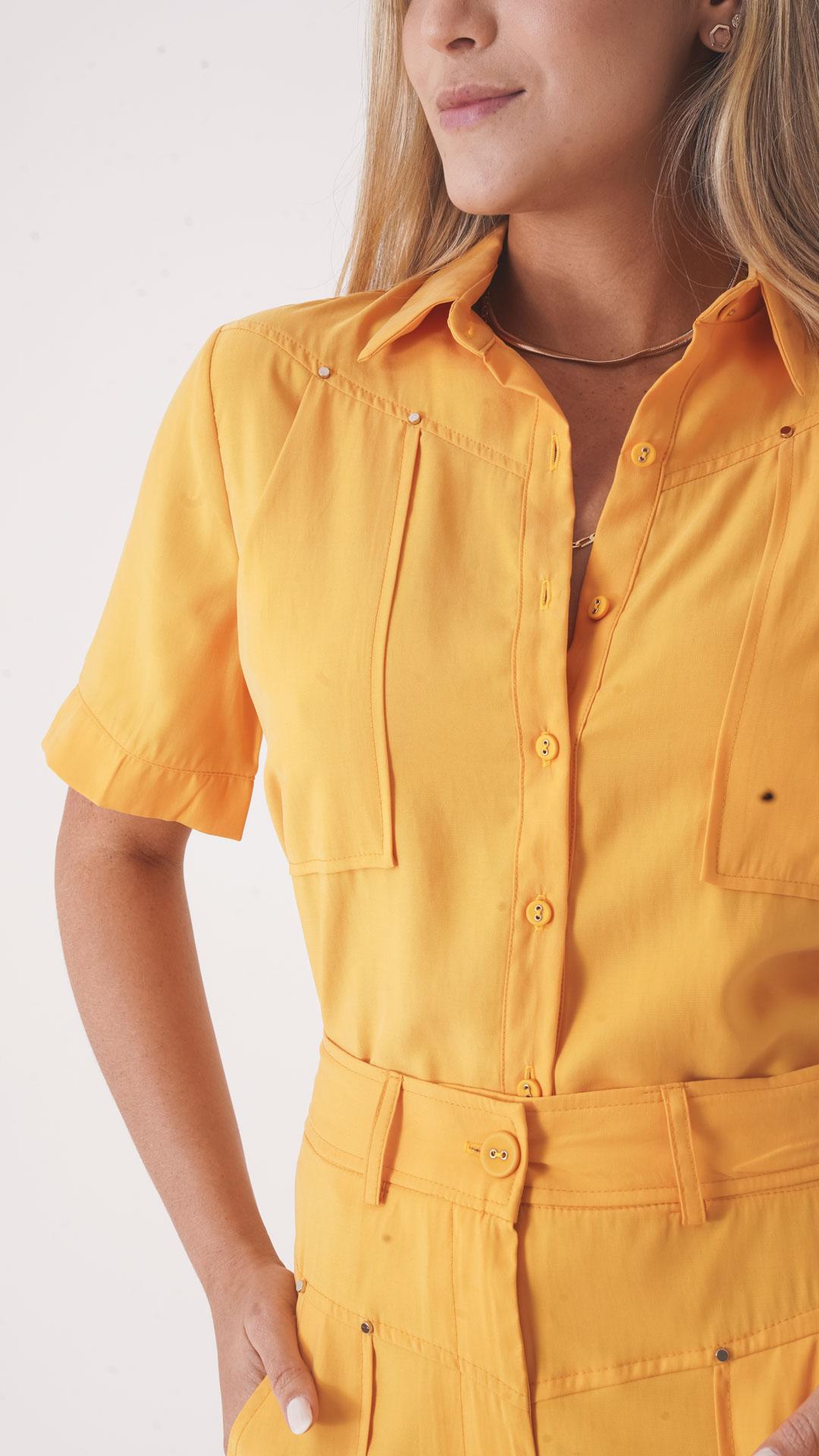 Camisa Manga Curta Martina