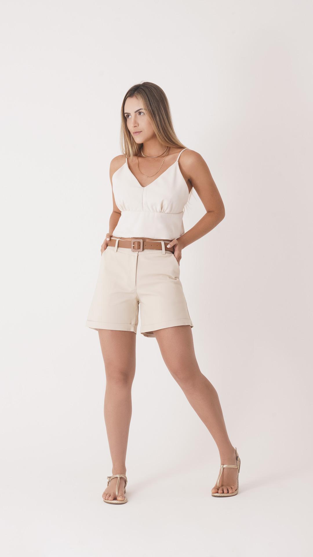 Cropped Fashion Amarração