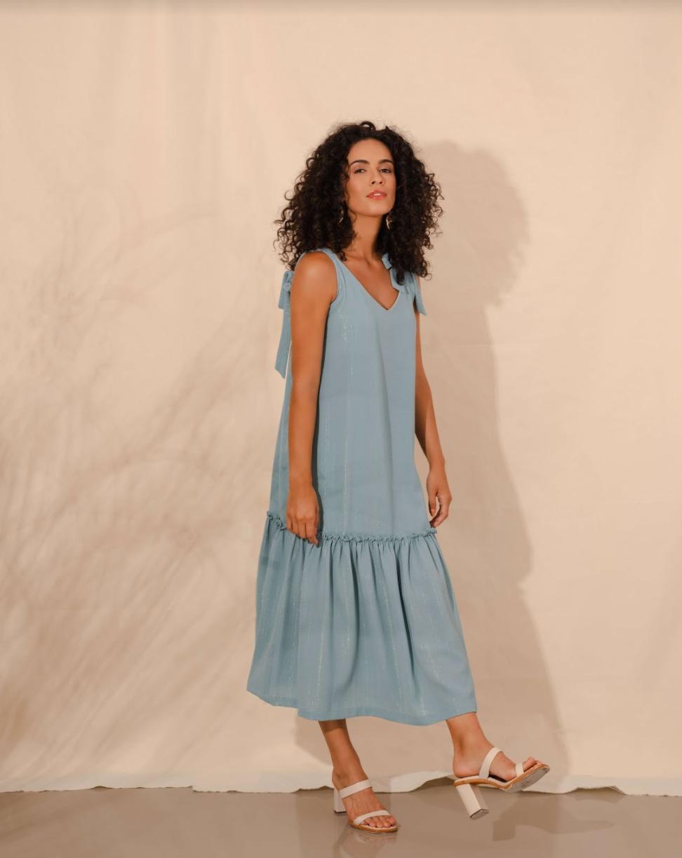 Vestido Azul Maui
