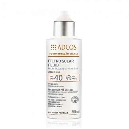 Adcos Professional Filtro Solar FPS 40 Fluid 50ml