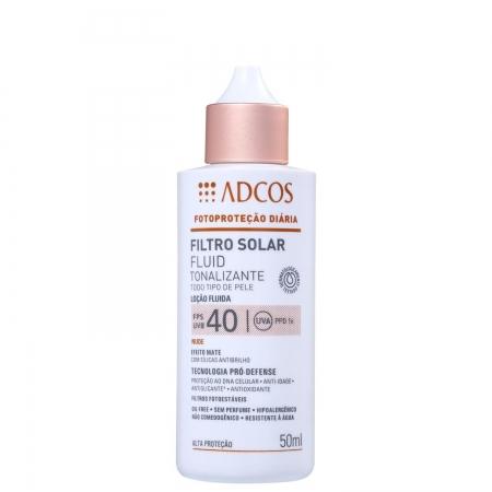 Adcos Professional Filtro Solar Tonalizante FPS 40 Fluid Nude 50ml
