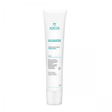 Adcos Professional Oily Solution Reduto de Poros Tonalizante 30g
