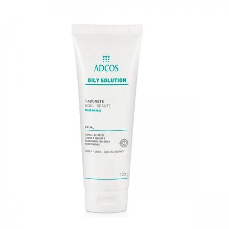 Adcos Professional Oily Solution Sabonete Equilibrante 120ml