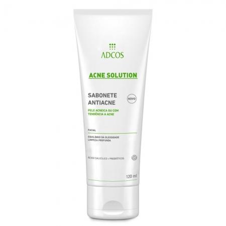 Adcos Profissional Acne Solution Sabonete Antiacne 120ml