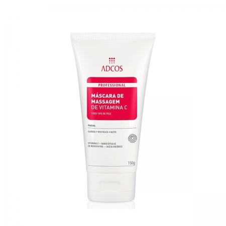 Adcos Profissional Máscara de Massagem de Vitamina C 150gr