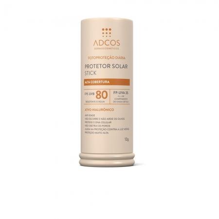 Adcos Protetor Solar Tonalizante Base Stick FPS80 Nude 12g