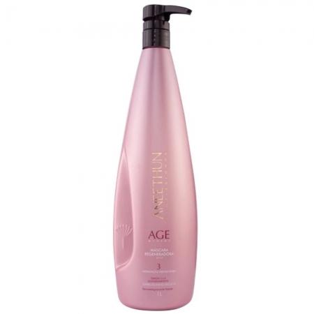Aneethun Mascara Regeneradora Age System 1 litro n3 Cabelos Envelhecid