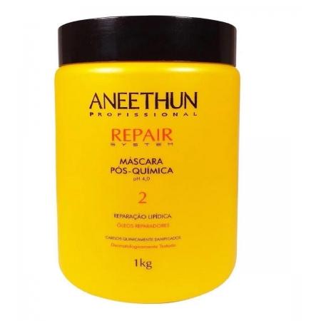 Aneethun Repair System Máscara Pós Quimica 1 kg