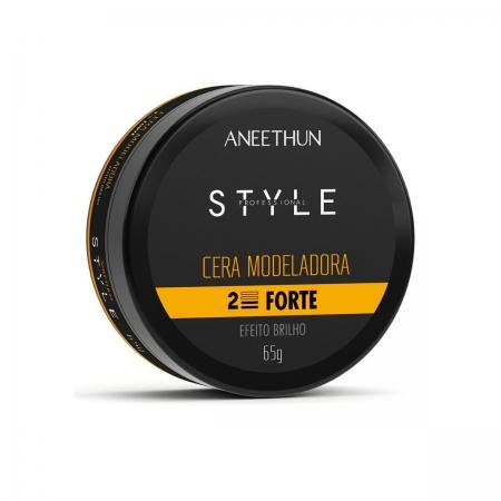 Aneethun Style Cera Modeladora Forte Profissional 65gr
