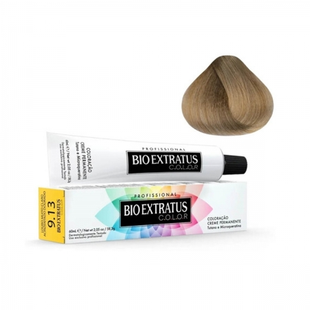 Bio Extratus Coloração 9.13-Louro Muito Claro Acinzentado Dourado 60ml