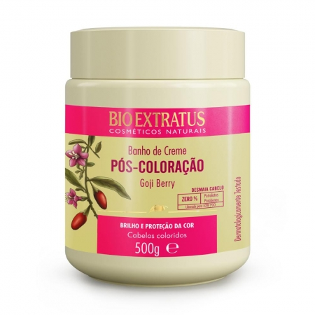Bio Extratus Pós-Coloração Banho de Creme 500gr