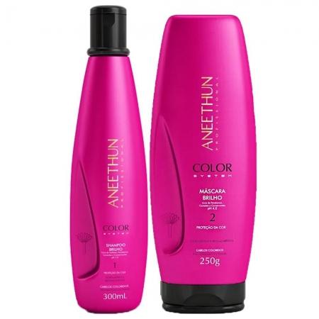 Kit Aneethun Color Shampoo300ml e Máscara250gr