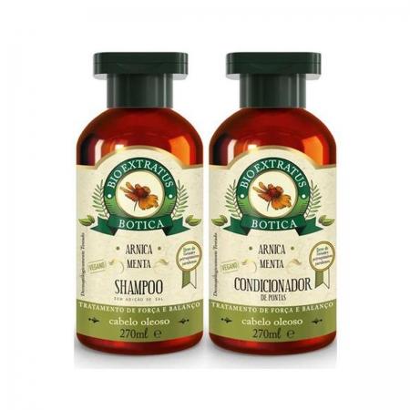 Kit Bio Extratus Botica Arnica Shampoo 270ml e Condicionador 270ml