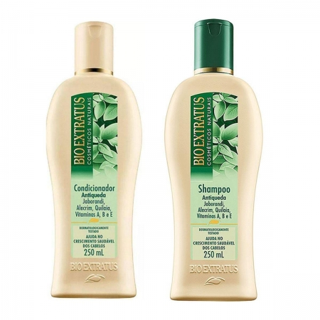 Kit Bio Extratus Jaborandi Shampoo 250ml e Condicionador 250ml