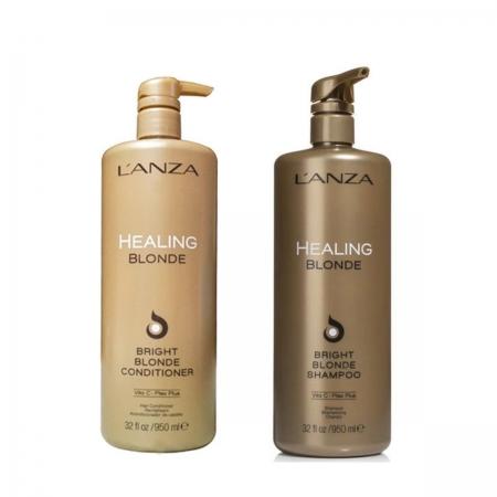 Kit Lanza Blonde Bright Sh. 1L e Cond. 1L