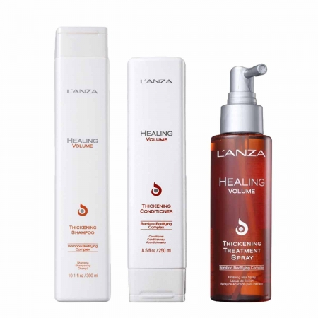 Kit Lanza Healing Volume Treatment Sh.300ml Cond250ml e Treatment100ml