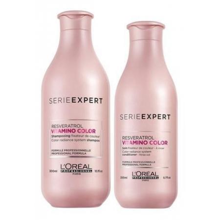 Kit  Loreal Profissional Vitamino Color Shampoo 300ml e Cond. 200ml