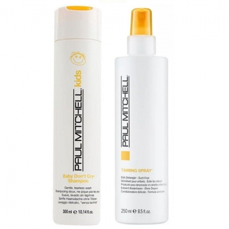 Kit Paul Mitchell Kids Shampoo300ml e Cond. Spray 250ml Infantil
