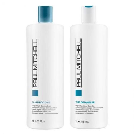 Kit Paul Mitchell Shampoo One 1L Cond. Detangler 1L