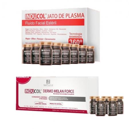 Kit Samana Inducol Jato de Plasma + Inducol Dermo Melan Force