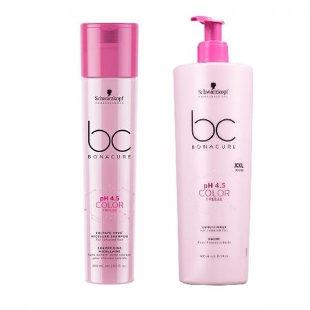 Kit Schwarzkopf Color Freeze Shampoo Micelar250ml+ Condi.Color500ml