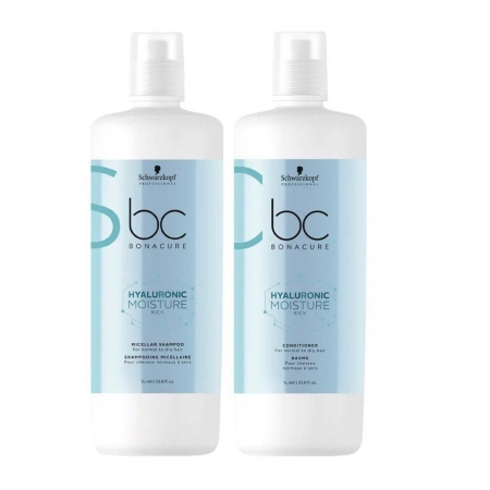 Kit Schwarzkopf Moisture Kick Shampoo 1L e Cond. 1L