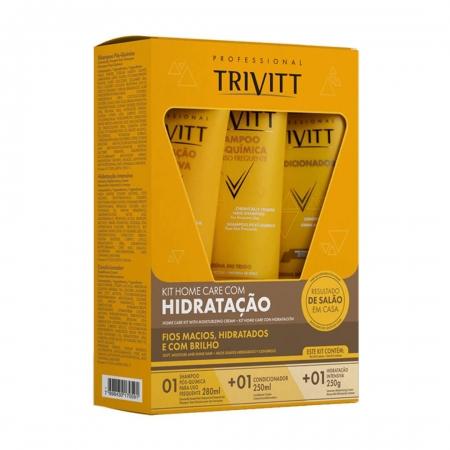 Kit Trivitt Manutenção (Shampoo + Condicionador + Máscara)