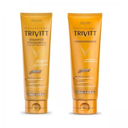 Kit Trivitt Pós Quimica Shampoo280ml + Condicionador 250ml